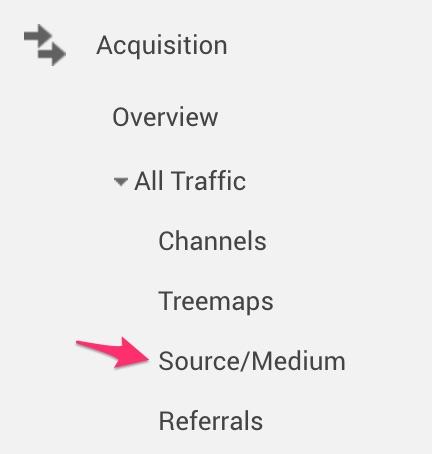 Source Medium Report Google Analytics