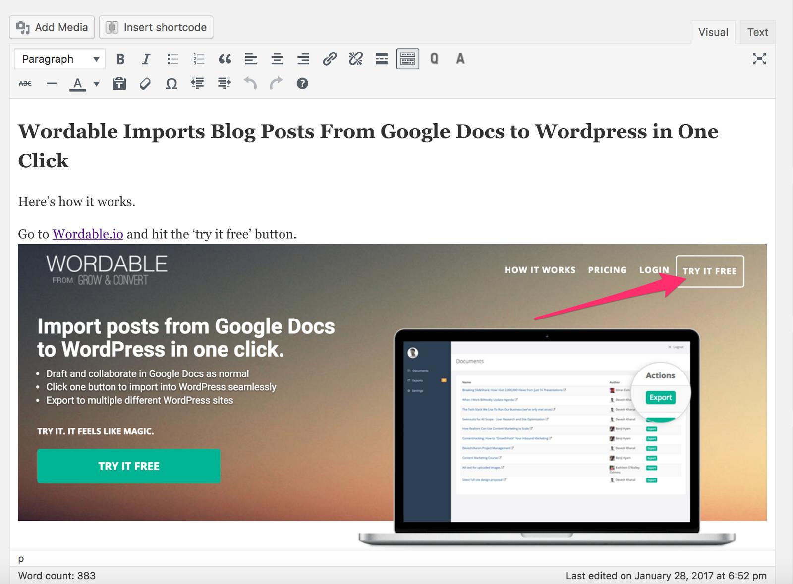 bulkuploadimages wordpress wordable