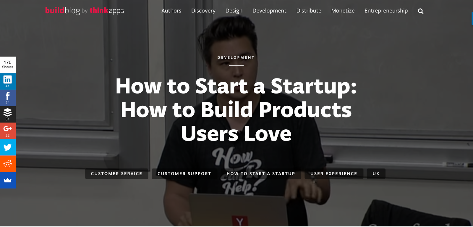 Create products users love YC 1