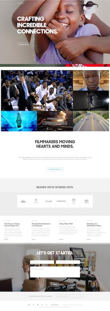 Tar homepage