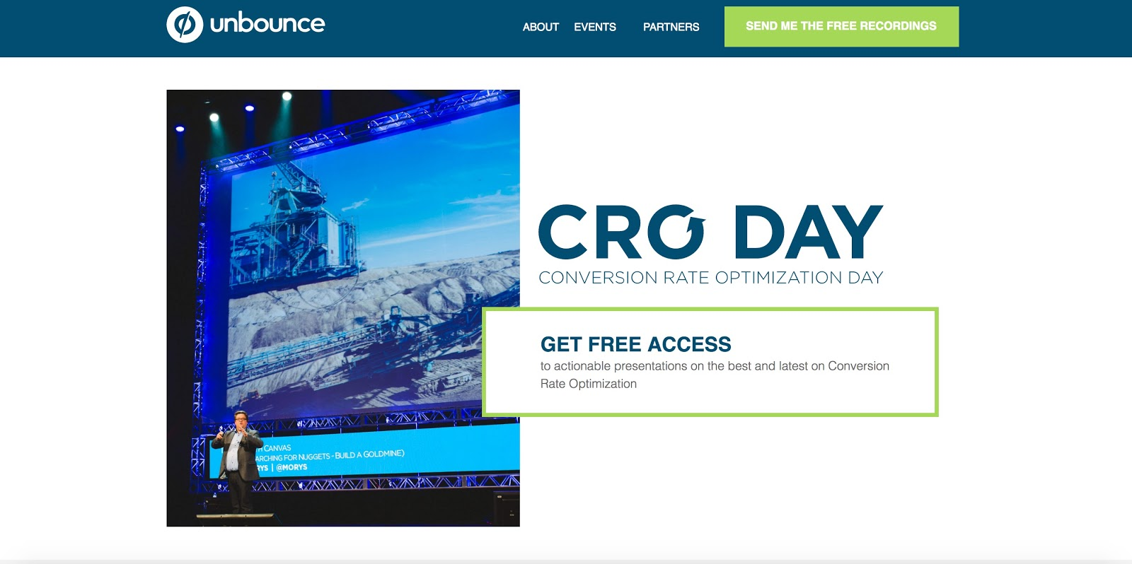 Unbounce CRO Day