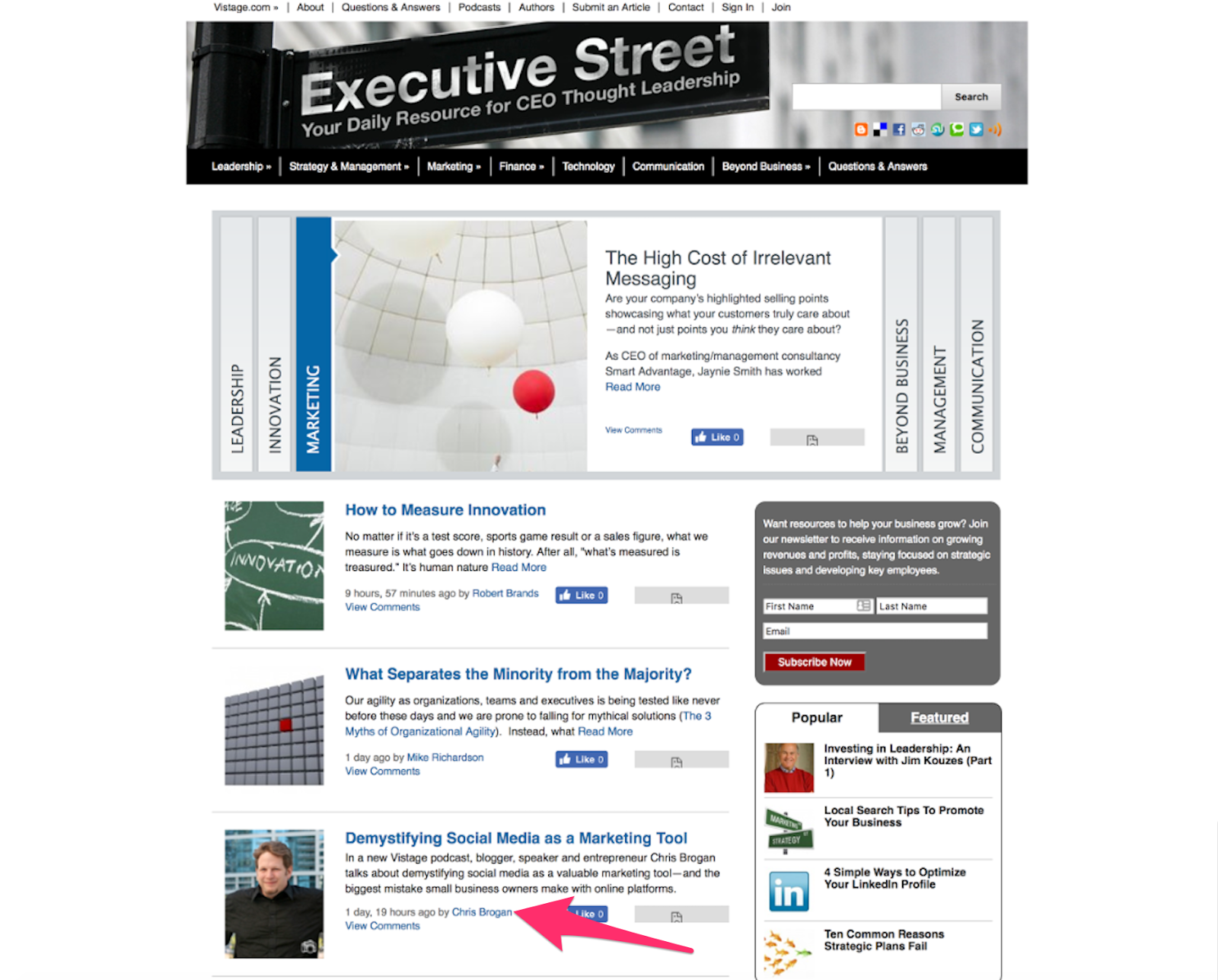 executivestreetlaunchblog png