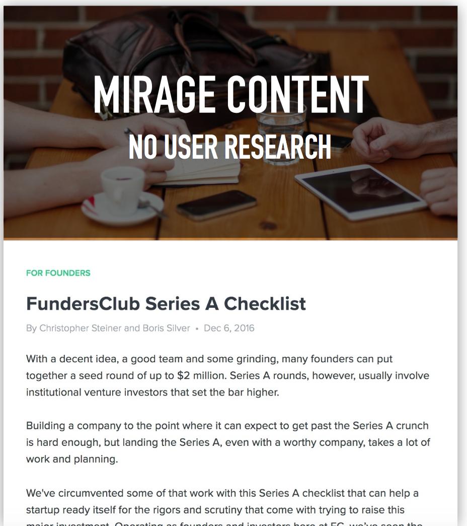 fundersclub miragecontent