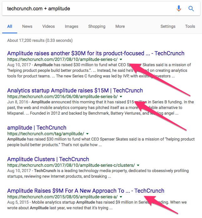 techcrunch com amplitude Google Search