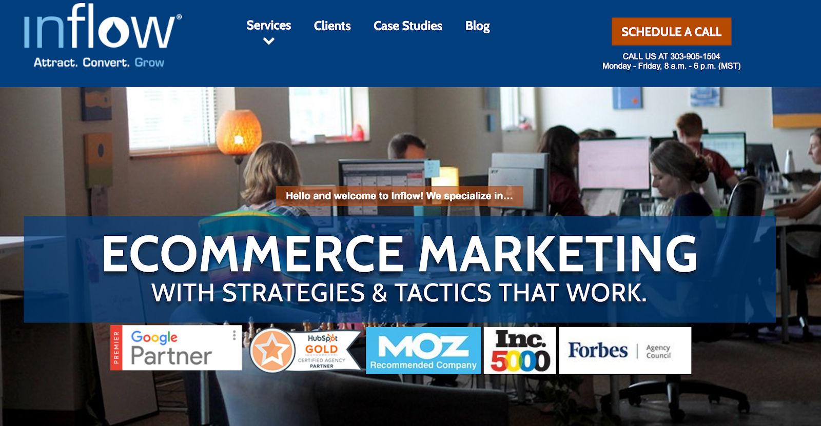 Award Winning eCommerce Marketing Agency Inflow