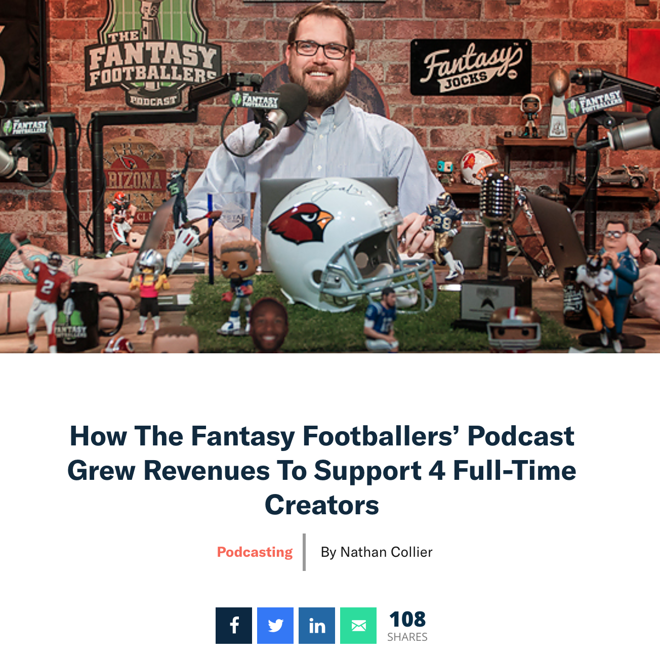 Fantasty Footballers Podcast - Patreon