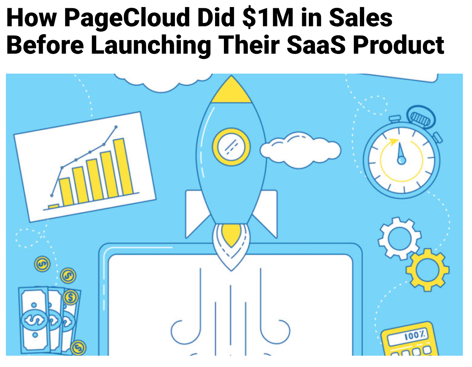 How PageCloud Did $1M in Sales Before Launching Their SaaS Product