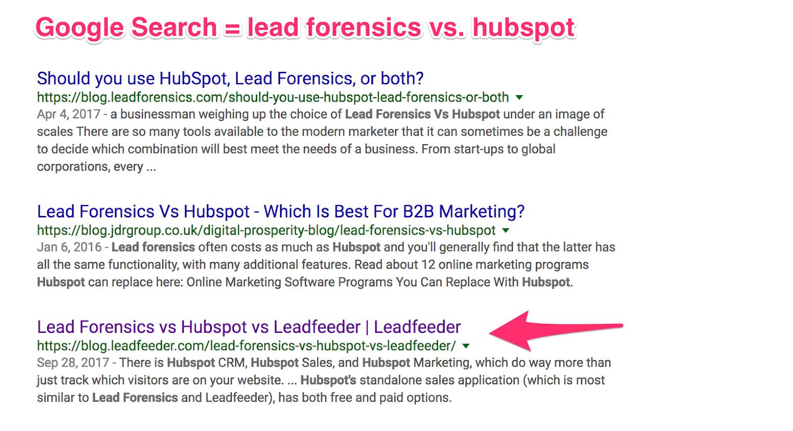 lead forensics vs hubspot Google Search 1
