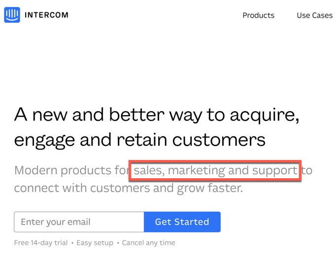 Intercom - a new and better way to acquire, engage and retain customers